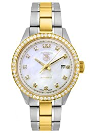 Tag Heuer Women s WV2451BD0797 Carrera Mother-Of-Pearl Dial Watch