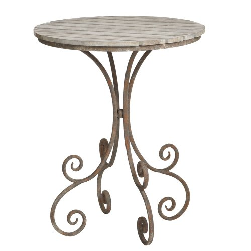 Midwest Cbk Distressed Greywash Bistro Table front-193870