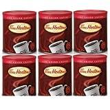 6 Pack Tim Hortons Freshly Sealed Fine Grind Cans Coffee 32oz (930g) Each