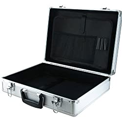 SRA Soldering Products EN-AC-BY-13450C Aluminum Laptop and Test Equipment Silver Hard Case, 17.7 x 133 x 9.6 Inches