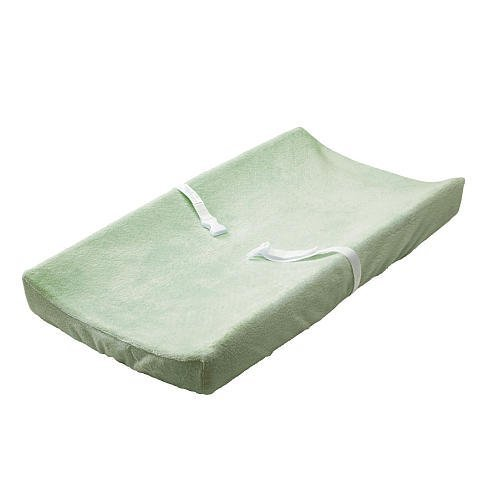Babies'R'Us Plush Changing Pad Cover - Sage