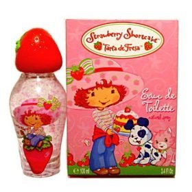 STRAWBERRY SHORTCAKE For Girls 3.4 oz EDT Spray