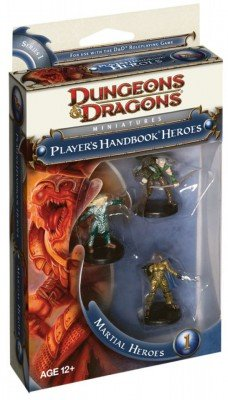 Imagen de Manual del Jugador Heroes Martial Heroes 1 Dungeons and Dragons Miniatures