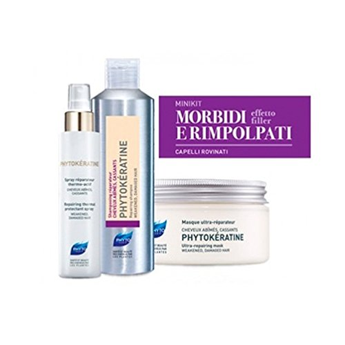 Phyto Minikit Capelli Rovinati Shampoo 50 ml+ Maschera 50 ml+ Spray 30 ml