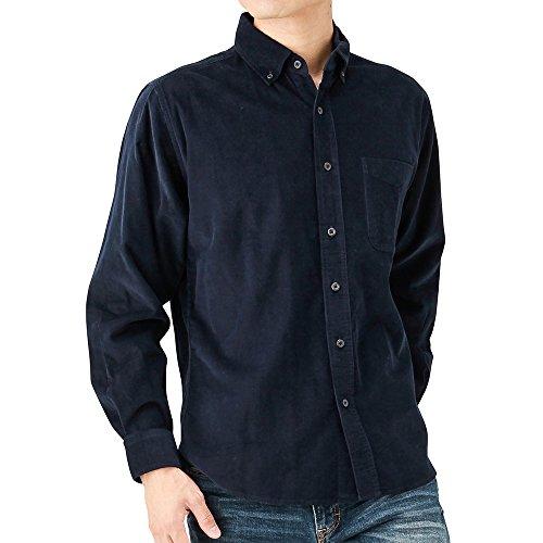 Navy(ネイビー) コーデュロイシャツ NM8167-07 メンズ DKブルー:S