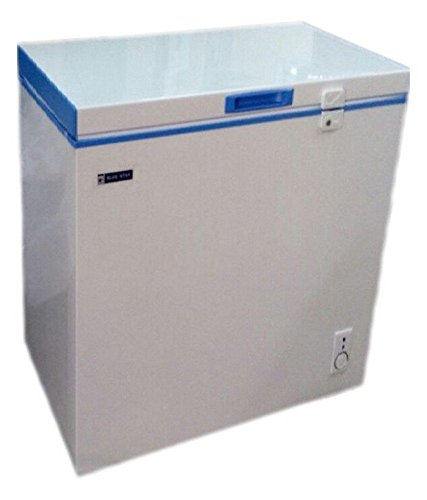 Blue Star CHF100 Direct Cool Standard Single Door Free-Standing Refrigerator (100 Ltrs, White and Blue)
