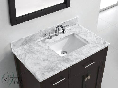 Bathunow shop bath and home accessories for Virtu usa caroline 36 inch single sink bathroom vanity set