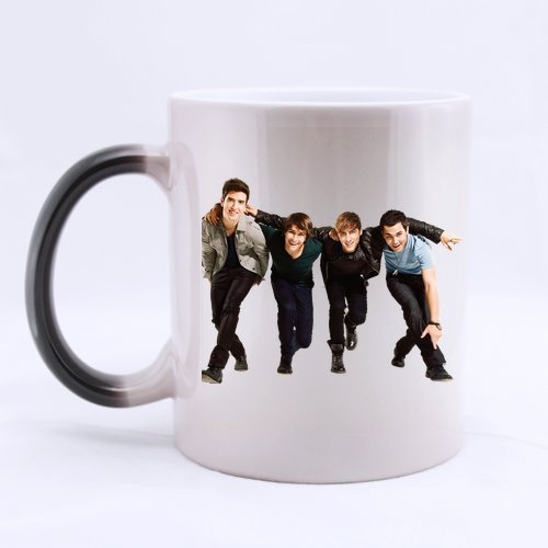 CozyHome big time rush live Custom Morphing Mug tea Coffee cup (Big Time Rush Mug compare prices)