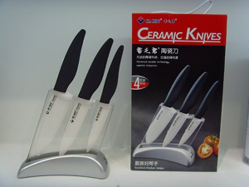 Zhuhai Premium Ceramic Knife Set Includes 4