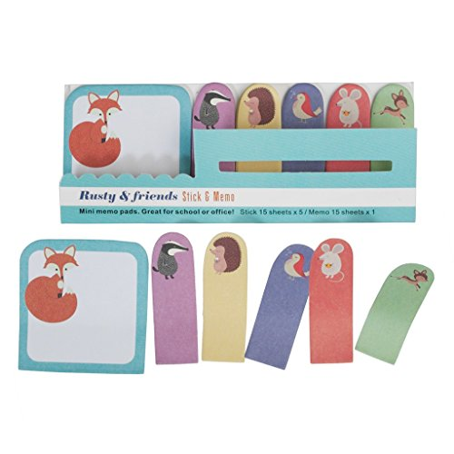 cute-mini-sticky-memo-pads-and-page-markers-rusty-friends