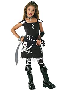 Rubie'S Costume Co Drama Queens Scar-Let Pirate Child Halloween Costume Size 5-7 from Rubie's Masquerade UK