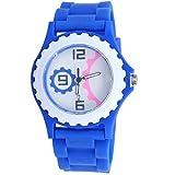 Super Drool Gear Shape Dial Blue Kids Wrist Watch