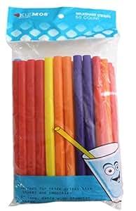 Kizmos Assorted Milkshake Straws (50 Count)