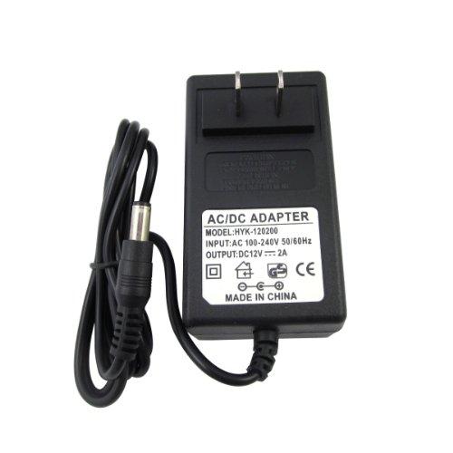 Us Plug 100-240V Ac To Dc 12V 2A 24W Power Supply Adapter