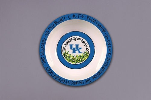 Collegiate Melamine Bowl (Kentucky Wildcats) (Party Supplies Uk)