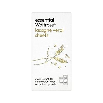 Lasagne Verdi essential Waitrose 375g - Pack of 6 by Waitrose