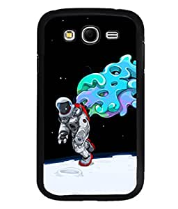 printtech Astronaut Abstract Space Back Case Cover for Samsung Galaxy Grand Neo Plus::Samsung Galaxy Grand Neo Plus i9060i