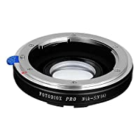 Fotodiox Lens Mount Adapter, Nikon Lens to Sony Alpha A-Mount Camera, for Sony A100, A200, A230, A290, A300, A330, A350, A380, A390, A450, A500, A550, A560, A580, A700, A850, A900, SLT-A35, A33, A37, A55, A57, A65, A77, Minolta Maxxuum 5D, 7D, 7, 9xi, 7xi