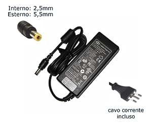 """Caricatore per laptop per Packard Bell EasyNote MZ35-001 MZ35-100 MZ35-200 MZ35-216 MZ35-U-005 adattatore, alimentatore, alimentazione elettrica, notebook, PC Portatile adattatore CA - Marca """"Laptop Power""""®"""