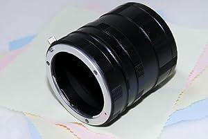 One World Shop Sony  NEX Eマウント用 マクロ 接写リング エクステンションチューブ クリーニングクロス付き 30321