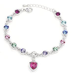 HONEYKISS Women's Twelve Constellation Crystal Bracelet Korean Jewelry(C16)