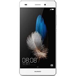 Huawei P8 Lite Smartphone, Android 5.0, Processore Octacore 64bit, 16 GB memoria interna, Fotocamera 13MP, monoSIM, Bianco [Italia]