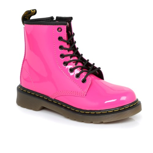 7e136836f04 If you are looking for an Dr Martens Infants Delaney Hot Pink Boots UK 11  Kids - . Take a look here you will find reasonable prices and many special  offers.