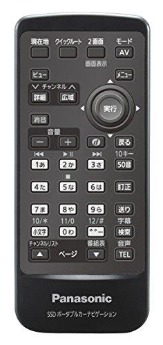 Panasonic SSDポータブルカーナビステーションオプション SSDポータブルカーナビゲーション用リモコン CA-PRSD1D