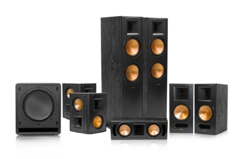 Klipsch Rf-82 Ii Reference Series 7.1 Home Theater System (Black)