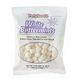 Party Sweets 14 oz White Wedding Buttermints