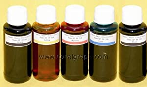 BULK REFILL INK FOR CANON 5 COLOR PRINTER 500ML 5X100ML FOR CARTRIDGE CISS CIS REFILL