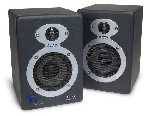 M-Audio StudioPro 3 Desktop Audio Monitors