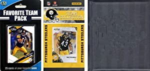 NFL Pittsburgh Steelers Licensed 2010 Score Team Set and Favorite Player Trading Card... by C&I Collectables