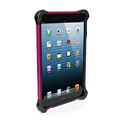 Ballistic Tough Jacket for iPad mini - Black Silicone - Black TPU - Pink PC - Black Cover