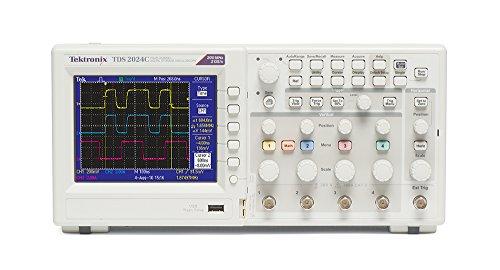 Tektronix TDS2024C 200 MHz, 4 Analog Channel, Oscilloscope, 2 GS/s Sampling, Lifetime Warranty
