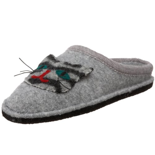 Cheap Haflinger Women's Ar Cat Slipper (B003ICW2TE)