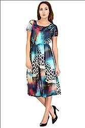 Selfiwear SW-660 Digital Printed Gorgeous Dress