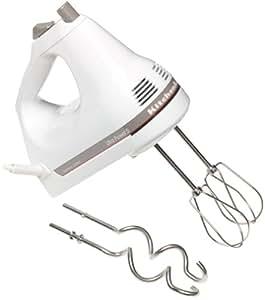 KitchenAid KHM5DH 5-Speed Ultra Power Hand Mixer, White
