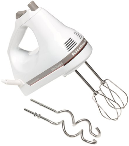 Lowest Price Kitchenaid Khm5dh 5 Speed Ultra Power Hand Mixer White Best Buy Mixers 503