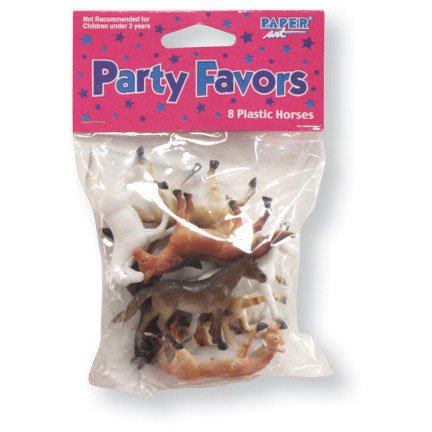 Mini Plastic Horses (1 Set) Party Supplies