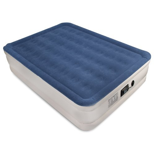 SoundAsleep Dream Series Air Mattress with ComfortCoil Technology and Internal High Capacity Pump