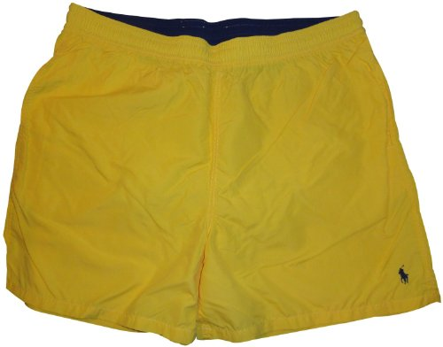 Men's Polo by Ralph Lauren Swimming Trunks Bathing Suit Big & Tall Yellow (2XB)