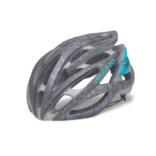 Giro Amare Racing Bike Helmet Ladies grey/blue (Head circumference: 55-59 cm)