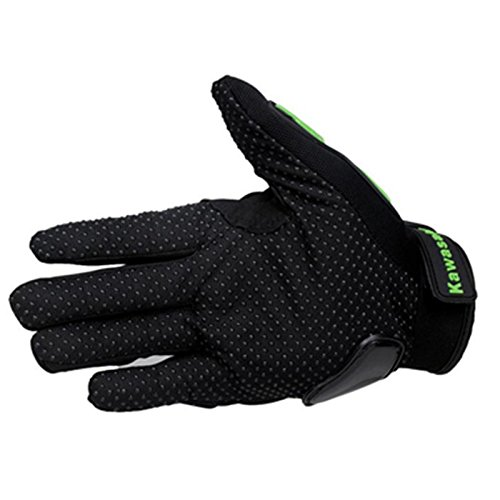 Kawasaki Motorcycle gloves retro Moto racing gloves Motocross full finger gloves Cycling glove M L XL XXL (M: 8-8.5 cm) 3