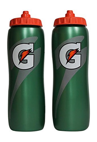 gatorade-950ml-squeeze-water-sports-bottle-pack-of-2-new-easy-grip-design-for-2014
