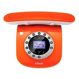 The VTech Retro Phone - Orange