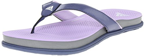 Adidas Performance Women's Supercloud Plus Thong W Athletic Sandal,Super Purple/Glow Purple/White,9 M US