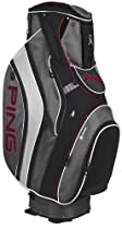 Ping Pioneer Cart Bag Black-Charcoal-Silver (NEW)