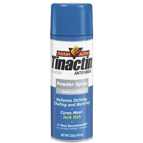 Tinactin jock itch antifungal powder spray - 133 gm