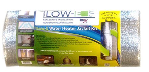 Esp Low-E® Ssr Reflective Foam Core Water Heater Insulation Kit, Designed To Insulate Up To A 60 Gallon Tank . Includes: Low- E Reflective Foam Insulation, Aluminum Foil Seam Tape And Self Adhered Foam Spacers. Save On Your Energy Bills, Increase The Effi